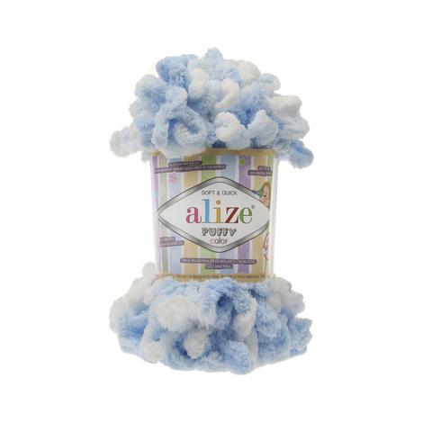 Купить Пряжа Alize Puffy Color Код цвета 5865 | Интернет-магазин пряжи «Пряха»