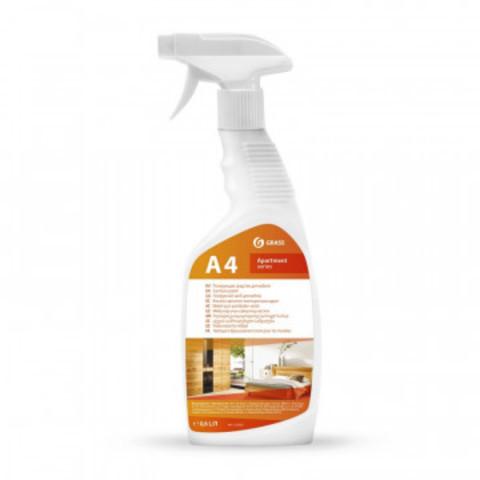 Профессиональная химия А4 Grass 600мл Полирующее средство для мебели