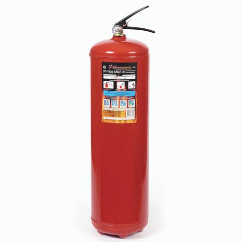 Порошковый огнетушитель ОП-10 (з) АВСЕ (ЗПУ алюминий)