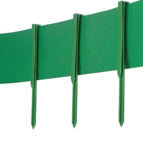 Колышек садовый для ленты бордюрной, 6 шт