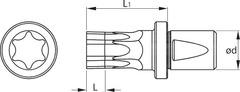 Штоки Torx® ⌀ d = 12 мм