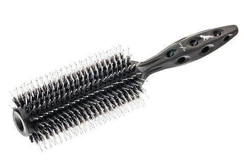 Брашинг Y.S.Park Tiger Brush 580 Black Carbon 60 мм с натуральной щетиной