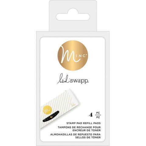 Набор штемпельных подушек без чернил, для заправки.  Heidi Swapp Minc Toner Stamping Stamp Pad Refills - 4шт.