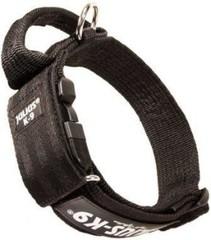 Ошейник для собак JULIUS-K9 Color & Gray закрытая ручка + скрытый локер, черный