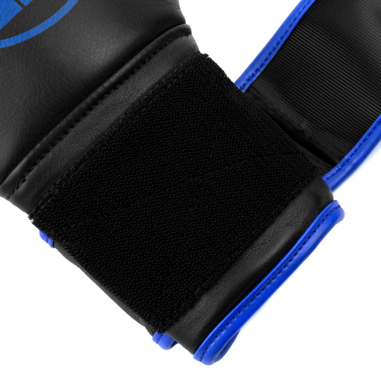 Перчатки Dozen Monochrome Black/Blue липучка петли