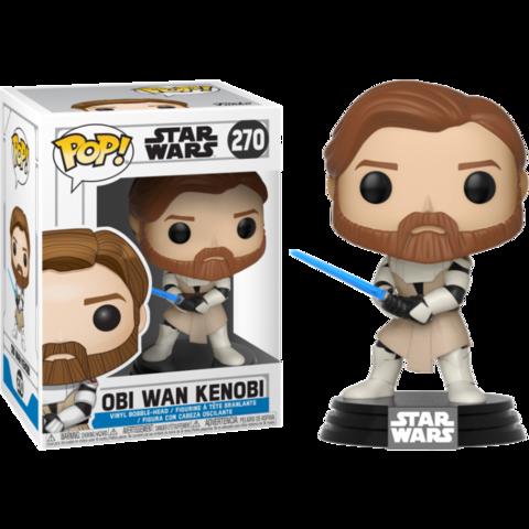 Фигурка Funko Pop! Star Wars: Clone Wars - Obi Wan Kenobi