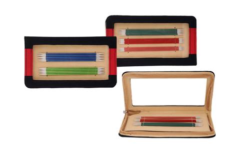 KnitPro Zing набор чулочных спиц 15 см