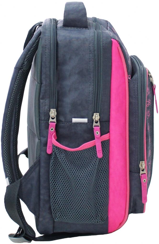 Рюкзак школьный Bagland Школьник 8 л. 321 сірий 21 д (00112702)