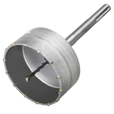 Коронка твердосплавная ПРАКТИКА SDS-Max ударная 125 мм (1шт.) клипса (917-958)