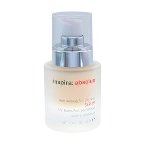 INSPIRA Absolue: Сыворотка с липосомами против морщин для восстановления сухой и обезвоженной кожи лица (Anti Wrinkle/Anti Dryness Serum), 30мл