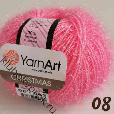 YARNART CHRISTMAS 08, Розовый барби