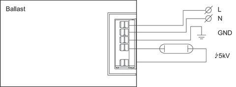 ЭПРА для металлогалогенных ламп Philips HID-PV E 70W /S CDM