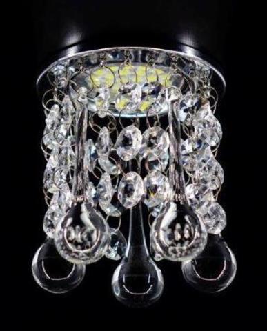 Встраиваемый светильник 3222-8С Хром