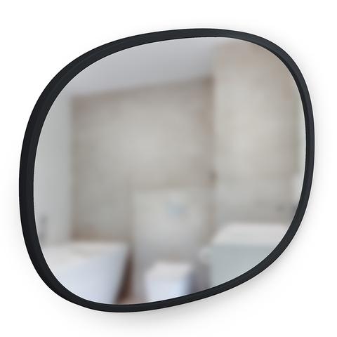 Зеркало овальное Hub 45 х 60 см черное