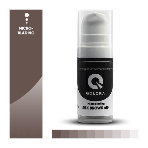 Qolora Silk Brown 415 (Шелковый коричневый)