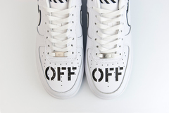 кроссовки Nike Air Force 1 Low Off-White White