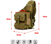 Однолямочный рюкзак подсумок Mr. Martin 5036 Khaki