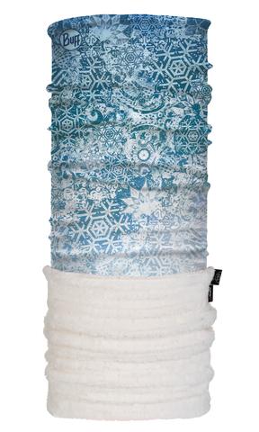 Теплый шарф-труба трансформер Buff Fairy Snow Turquoise фото 1