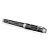 Parker Premier - Black CT, ручка - роллер, F