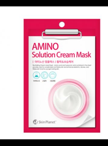 Mijin Skin Amino Planet Solution Cream Mask маска для лица тканевая с аминокислотами