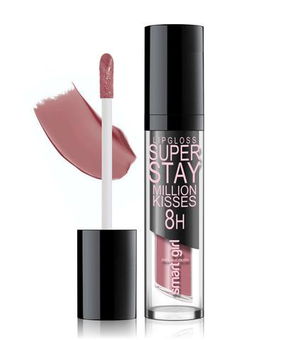 Супер стойкий блеск для губ Smart girl Million kisses (New) тон 218
