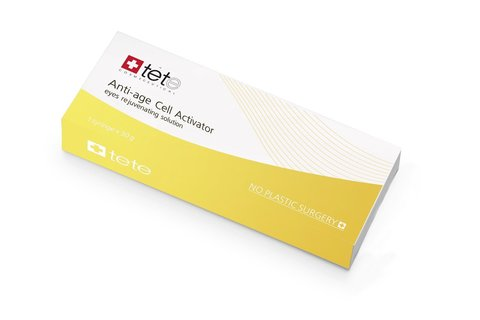 Омолаживающий крем для век / TETe Anti-age Cell Activator eyes rejuvenating solution, 30 ml