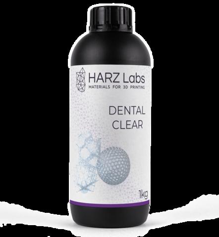 Фотополимер HARZ Labs Dental Clear, прозрачный (1000 гр)