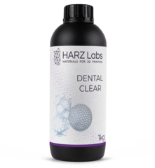 Фотография — Фотополимер HARZ Labs Dental Clear, прозрачный (1000 гр)