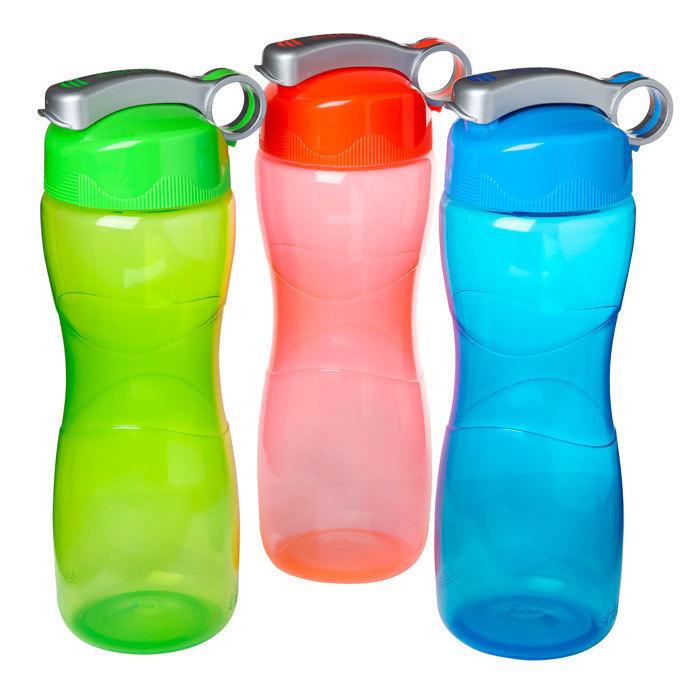 """Бутылка для воды Sistema """"Hydrate"""" 645 мл, цвет Красный"""