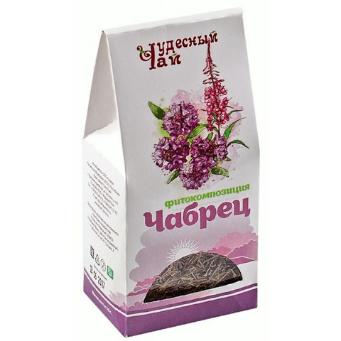 Чай фитокомпозиция Чабрец, 50гр (Стевия)