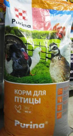 Комбикорм Пк-1-2 для несушек, Пурина