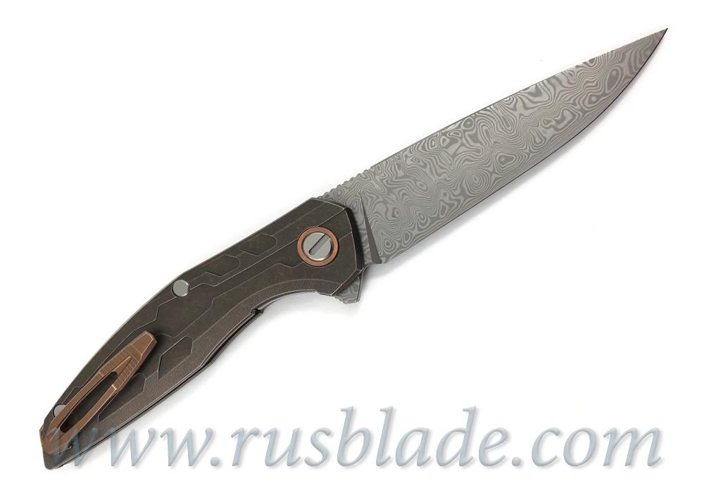 Shirogorov Custom Division 111 Bronze Damasteel - фотография