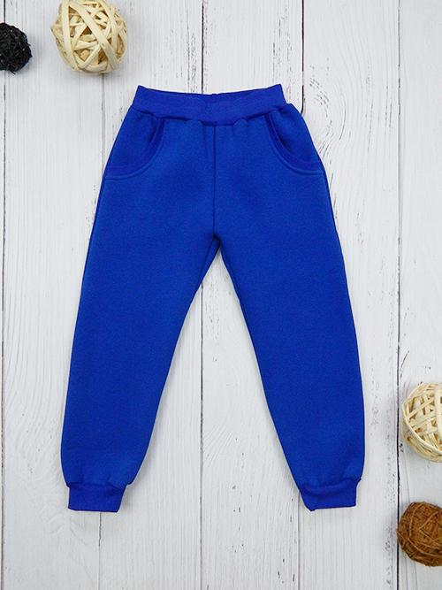 Брюки с карманами, 2401, синие