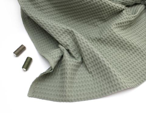 Вафельная ткань, эвкалипт,Турция,240 см