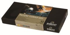 Набор акриловых красок Rembrandt - 10 цветов в тубах по 40мл