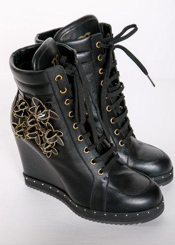 Кроссовки на платформе DSQUARED2