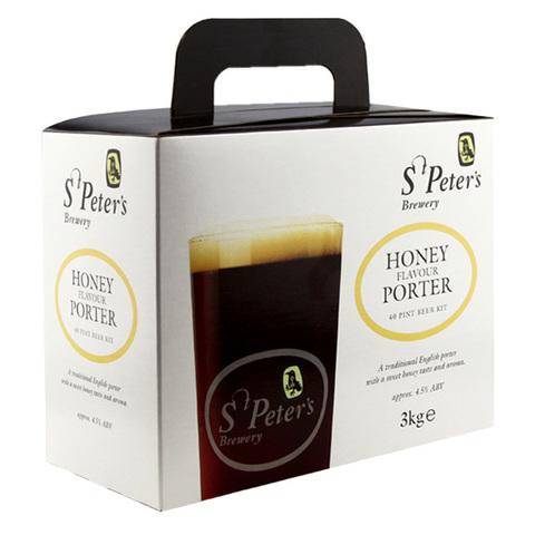 Солодовый экстракт St.Peters - Honey Porter (3 кг.)