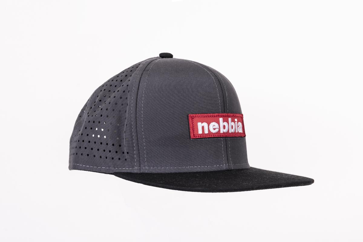 Мужская кепка Nebbia 163 grey