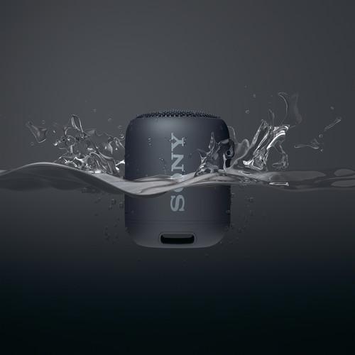 Колонка Sony SRS-XB12 чёрного цвета в Sony Centre Воронеж