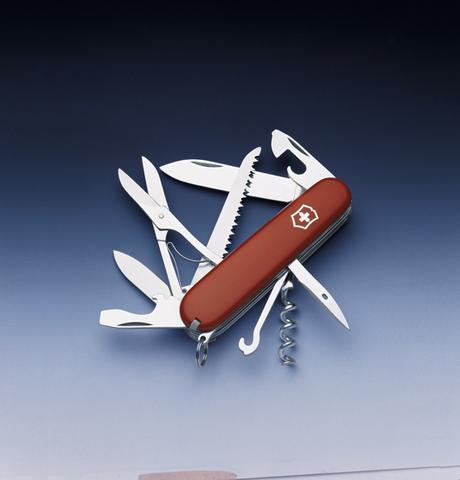 Нож Victorinox Huntsman, 91 мм, 15 функций, красный123