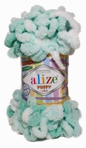 Пряжа Puffy Color Alize 6341