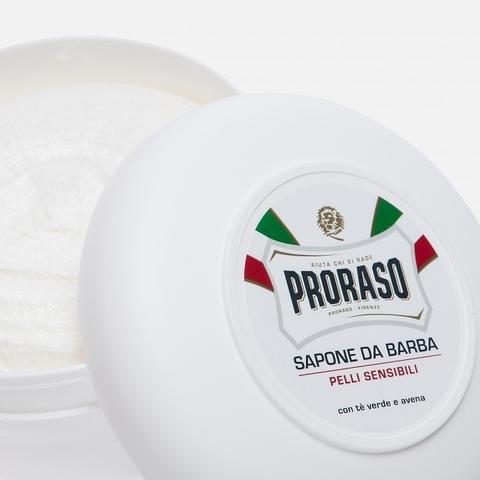 Мыло для бритья Proraso зеленый чай и овес
