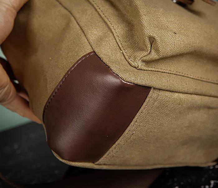 BAG503-2 Мужская сумка планшет из плотной ткани фото 05