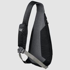 Рюкзак однолямочный Jack Wolfskin Delta Bag Air black - 2