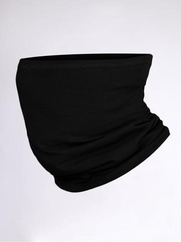 Шарф-баф (трикотаж) - черный