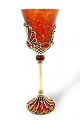 Бокал для вина Императрица, бронза, фото 2