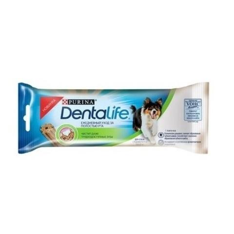 PURINA PRO PLAN Single Лакомство для собак средних пород для чистки зубов Dentalife Medium