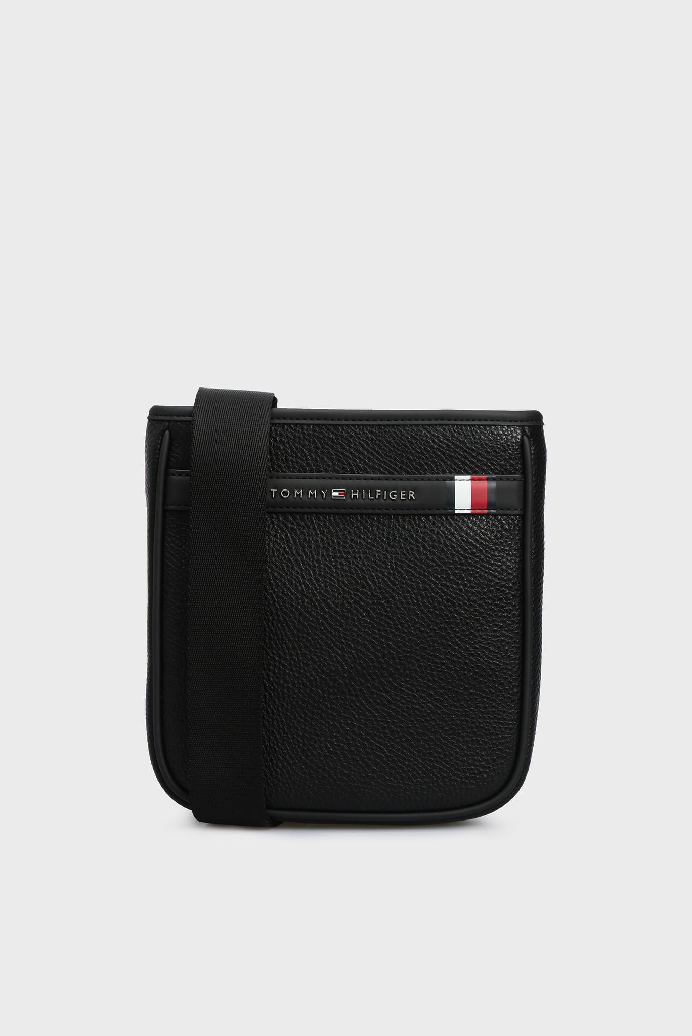 Мужская черная сумка через плечо TH DOWNTOWN MINI Tommy Hilfiger
