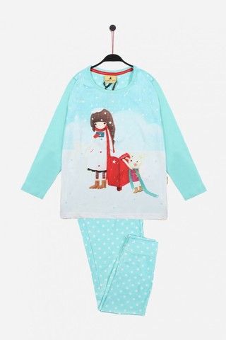 Пижама для девочек со штанами SANTORO (Испания) Warm Wishes 54416