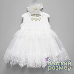 Платье (повязка, бусины)